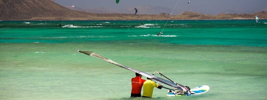 Windsurfing holidays packages Canary Islands